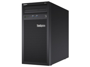 Lenovo ThinkSystem ST50: Procesador Intel Xeon E-2104G (3.20 GHz), Memoria RAM de 8GB DDR4, Disco Duro de 1TB, Red Gigabit, S.O. No incluye.