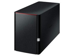 NAS Buffalo LinkStation 220, 4TB (2x2TB), Ethernet, USB 2.0.