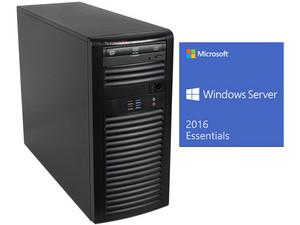 Workstation Supermicro SuperWorkstation 5039A-iL: Procesador Intel Xeon E3-1220 v5 (hasta 3.5 GHz), Memoria RAM 8 GB DDR4, Disco Duro 1TB, DVD±RW, Red Gigabit, Incluye Microsoft Windows Server 2016 Esentials.