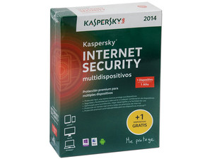 Kaspersky Internet Security Multidispositivos 2014, 1 Dispositivo, 1 Año.