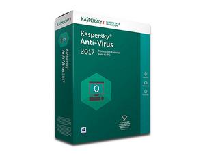Antivirus Kaspersky 1 Usuario por 1 Año.