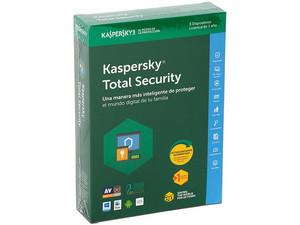 Kaspersky Total Security Multidispositivos 2015, 3 Dispositivos, 1 Año.