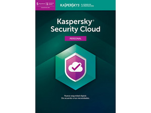 Kaspersky Security Cloud Personal 2019,  5 Dispositivos, 1 Año.