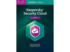 Kaspersky Security Cloud Family 2019, 20 Dispositivos, 1 Año.