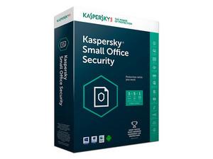 Kaspersky Small Office Security 2017, DVD, Licencia para 5 equipos y un servidor, Español.