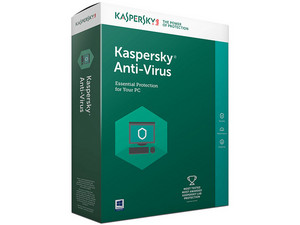 Kaspersky Anti-Virus 2017, 5 Licencias, 1 Año.
