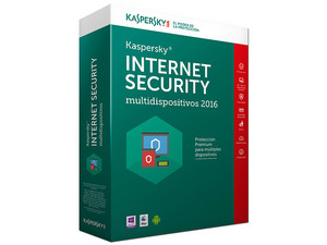 Kaspersky Internet Security Multidispositivos 2016, 3 Dispositivos, 1 Año.