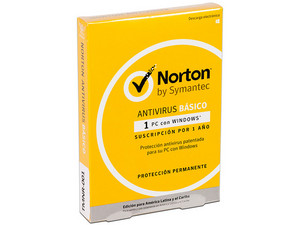 Norton Antivirus Basic, 1 Dispositivo, 1 año.