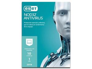 Eset NOD32 Antivirus 2019 (10 usuarios) (1 año)