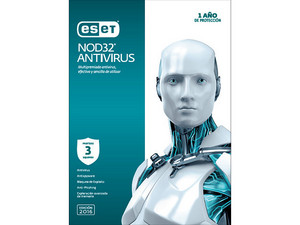 ESET NOD32 Antivirus 2016 (3 PC).