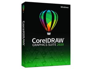 Software de Diseño Gráfico CorelDRAW Graphics Suite 2020 Academic para Windows.
