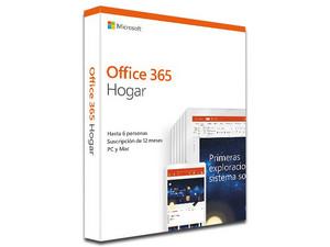 Microsoft Office 365 Hogar (6 Usuarios + 3 Dispositivos, 1 Año de suscripción para un hogar), Incluye Mouse y Antivirus Kaspersky.