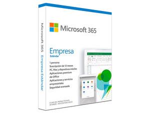 Microsoft 365 Empresa Estándar, 1 Dispositivo, Multilenguaje.