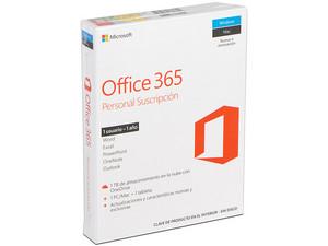 Microsoft Office 365 Personal (1 Año de suscripción para una 1 PC)