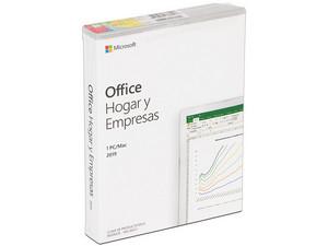 Microsoft Office Hogar y Negocios 2019, 1 Equipo.