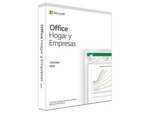 Microsoft Office Hogar y Empresas 2019, 1PC, Versión en Español.