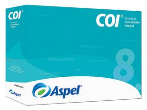 Sistema de Contabilidad Integral Aspel COI 8.0. (Actualización de 2 Usuarios)