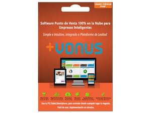 Usuario adicional Vonus Software Punto de Venta en la nube (1 año).