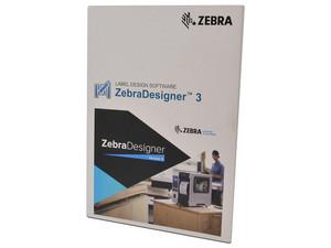 Software para diseño de etiquetas de código de barras Zebra Designer v. 3.0 Pro, Licencia para 1 Usuario, Tarjeta de activación, para PC