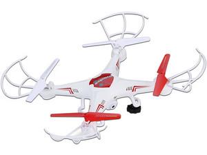 Drone Stylos YAK-130 con 6 ejes de rotación, Luz Led, color Blanco.