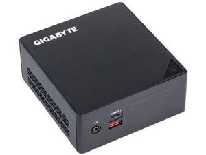 """Mini Computadora Gigabyte PC BRIX: Procesador Intel Core i3-6100U (2.30 GHz), Soporta RAM de hasta 32GB DDR4 Puerto de Almacenamiento para 2.5"""" HDD/SSD, 7.0/9.5 mm Red 802.11b/g/n, Compatible Windows 7 hasta Windows 10 (64 bits), No incluye S.O."""