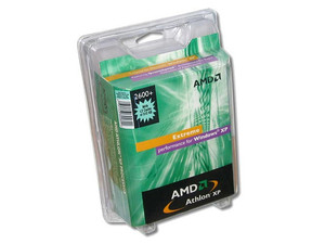 Procesador AMD Athlon XP 2600+, BUS 333Mhz, Socket A, con 512 KB en cache L2