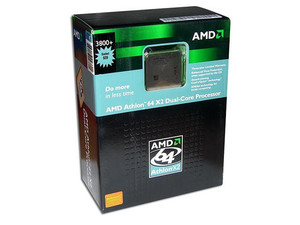 Procesador AMD Athlon 64X2 3800+ (Doble Núcleo) a 2.0GHz, Cache 512KB, Socket 939