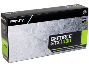 Tarjeta de Video NVIDIA PNY GeForce GTX 1050, 2GB GDDR5, 1xHDMI, 1xDVI, 1xDisplayPort, PCI Express x16 3.0