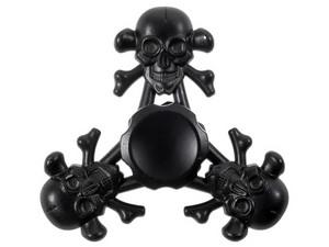 Spinner de Calavera color Negro