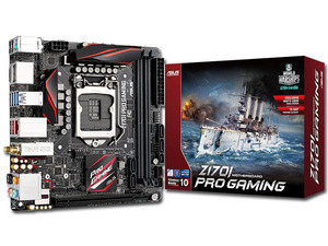 T. Madre ASUS Z170I PRO GAMING, Chipset Intel Z170,
