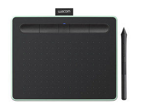 Tableta Gráfica Wacom Intuos Creative Pen Small, Bluetooth. Color Verde.