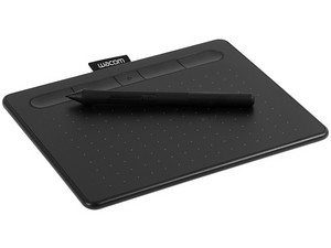 Tableta Gráfica Wacom Intuos Creative Pen Small, Bluetooth. Color negro.
