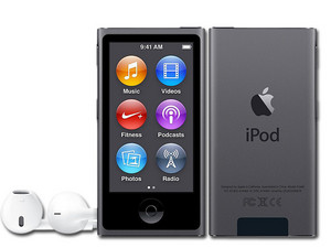 iPod nano de 16 GB, Gris espacial.