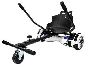 Patineta Electrica Vorago Hoverboard 300, Kit Kart. Color Blanco