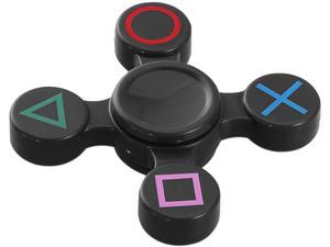 Fidget Spinner Play. Color Negro.