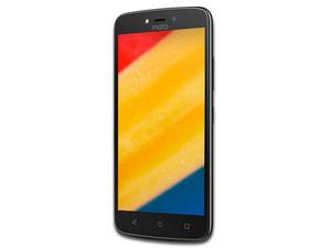 "Smartphone Motorola Moto C Plus: Procesador MediaTek Quad Core (1.3 GHz), Memoria RAM de 1GB, Almacenamiento de 16GB (expandible con microSD), Pantalla 5\""(1920x1080), Bluetooth 4.2, Wi-Fi, 4G LTE, Nano SIM, Android 7.0 Nougat."