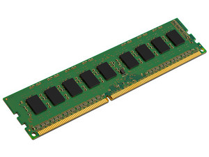 Memoria Kingston DDR3, PC3-12800 (1600MHz) 4 GB, ECC.