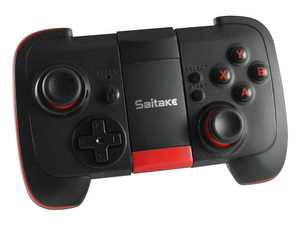 GamePad universal XSories STK-7002X para smartphone, Bluetooth. Color negro.