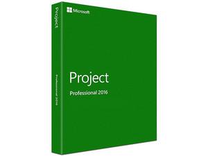 Microsoft Project Professional 2016, DVD, versión en inglés.