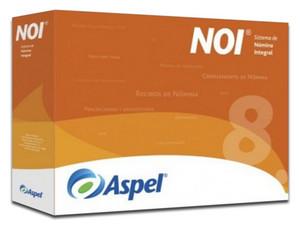 Sistema de Nomina Integral Aspel NOI 8.0 (Actualización de 5 Usuarios adicionales).