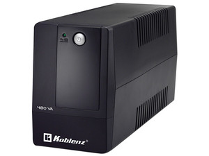 No-Break Koblenz 4816 R, 480 VA/240 Watts, 4 contactos.