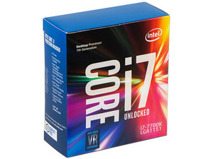 Procesador Intel Core i7-7700K de Séptima Generación, 4.2 GHz (hasta 4.5 GHz) con Intel HD Graphics 630, Socket 1151, Caché 8 MB, Quad-Core, 14nm.
