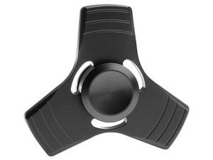 Fidget Spinner Metálico. Color Negro.