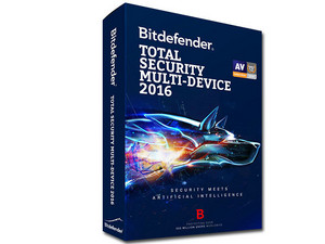 Bitdefender Total Security Multi-Dispositivos 2016, 2 Años (2 Usuarios).