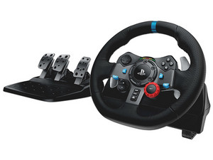 Volante Logitech G29 Driving Force compatible con PC (USB), PlayStation 3 y 4.