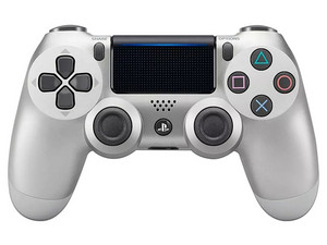 Control Inalámbrico Dualshock 4 (PS4), color Plata
