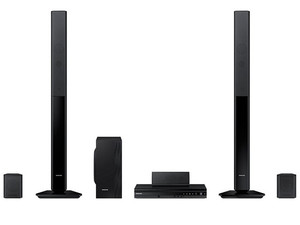 Home Theater Samsung HT-F453RK, Audio 5.1, Dolby Digital, Reproductor de DVD, Radio FM, 1000 Watts.