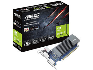 Tarjeta de Video NVIDIA GeForce GT 710 ASUS, 2GB GDDR5, 1xHDMI, 1xDVI, 1xVGA, PCI Express 2.0.