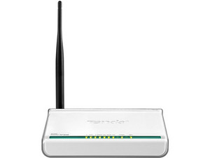 Ruteador Inalámbrico Tenda Wireless de 4 puertos RJ-45 hasta 150Mbps.