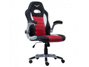 Silla Gaming Naceb Pilot. Color Negro/Rojo.